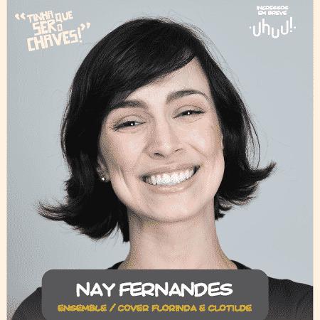 """Nay Fernandes fará coro e será substituta de Dona Florinda e Dona Clotilde em """"Chaves - Um Tributo Musical"""" - Divulgação - Divulgação"""
