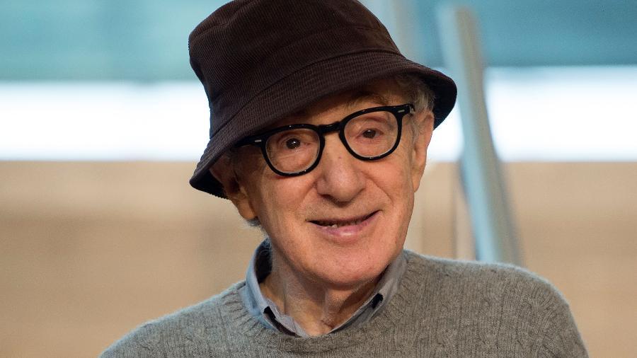 Woody Allen apresenta seu nome filme em San Sebastián, na Espanha - AFP