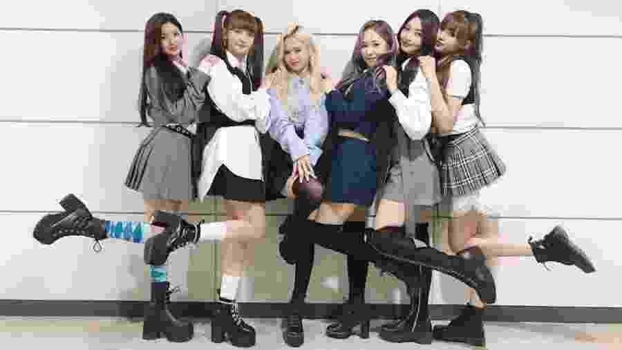 O grupo de k-pop Everglow - Reprodução/Instagram