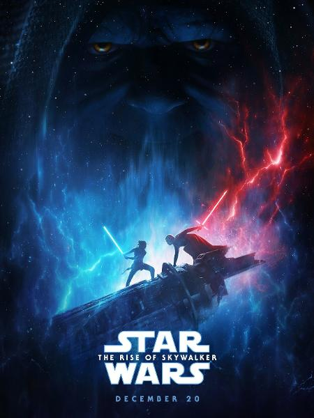 """O novo pôster de """"Star Wars: A Ascensão Skywalker"""" - Reprodução/Twitter"""