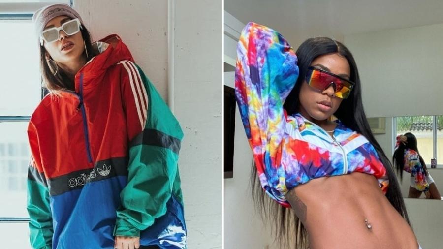 Anitta e MC Rebecca: elas já ficaram - Reprodução/ Instagram