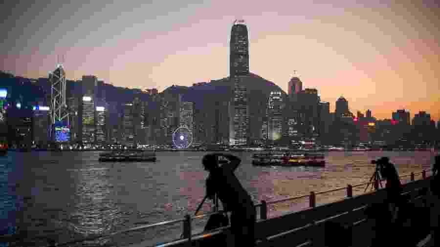 Hong Kong foi a cidade mais visitada em 2019 segundo levantamento da Euromonitor International - Anthony Wallace/AFP