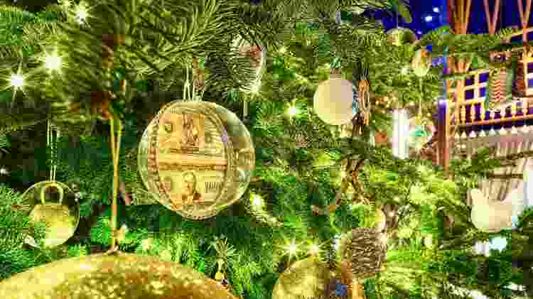 Detalhes da árvore de Natal que custa mais de R$ 60 milhões - Divulgação - Divulgação