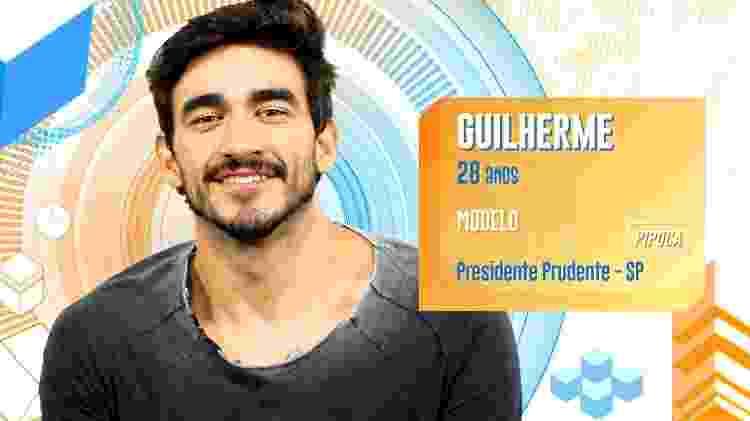 Guilherme - Divulgação/TV Globo - Divulgação/TV Globo