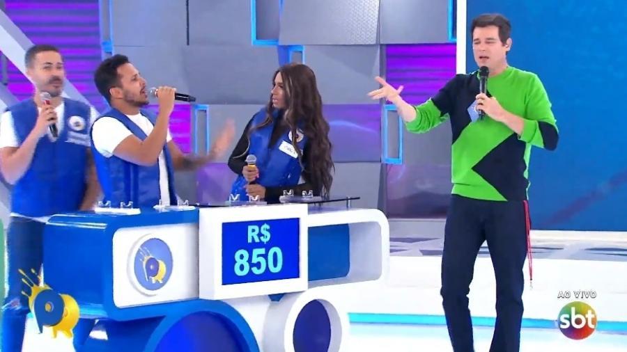 """""""Passa ou Repassa"""" vai ao ar sem plateia no SBT - Reprodução/SBT"""