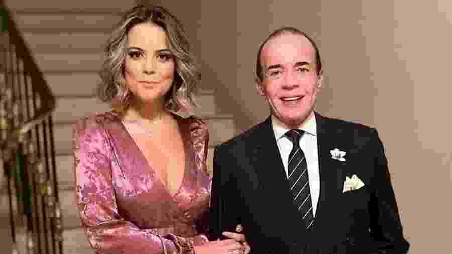 Fernanda Rizzi e Chiquinho Scarpa - Reprodução/Instagram