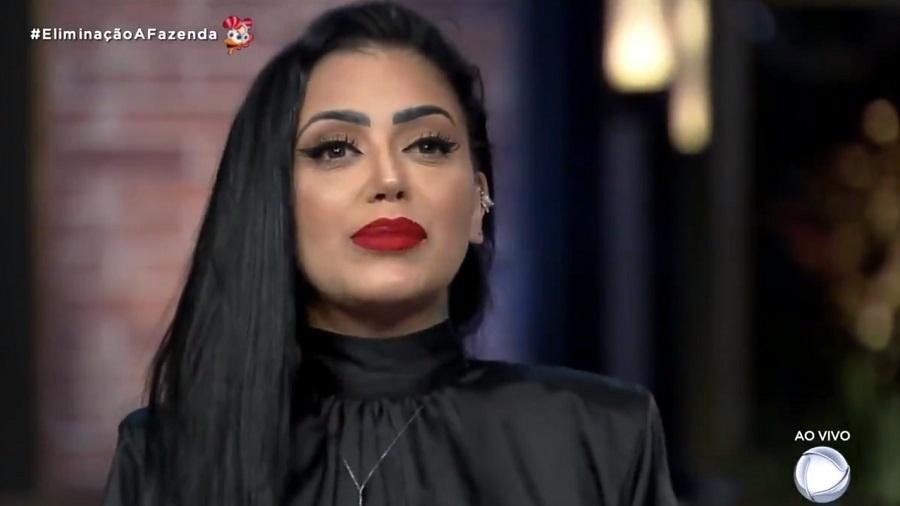 A Fazenda 2020: MC Mirella é a décima eliminada do reality show da RecordTV - Reprodução/Playplus