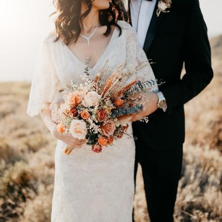 Casamento; noiva; buquê - iStock