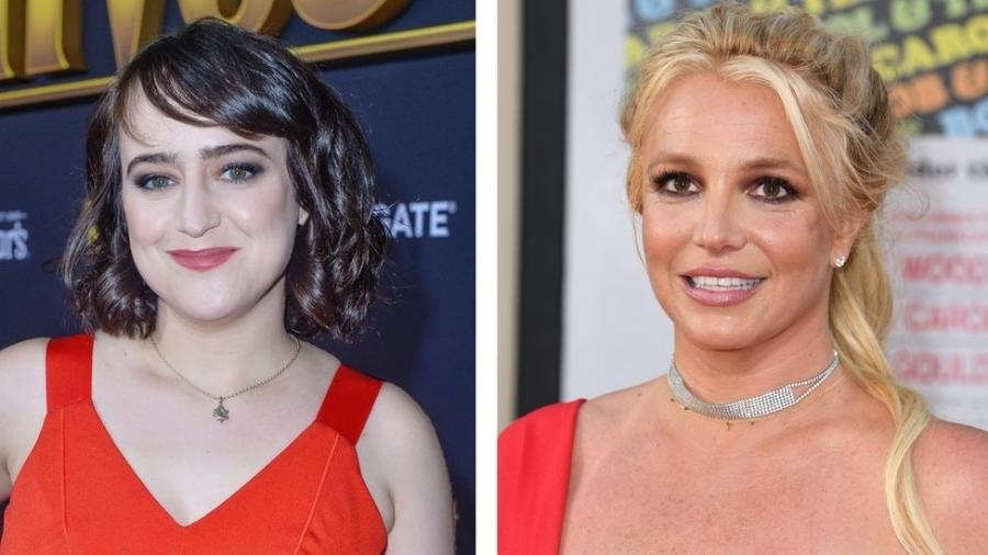Mara Wilson e Britney Spears em 2019 - Getty Images