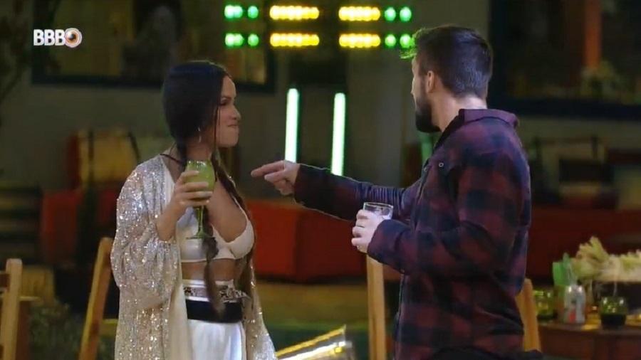 BBB 21: Juliette e Arthur comentam sobre participação no BBB - Reprodução/Globoplay