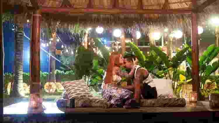 Brenda e Matheus discutem e fazem as pazes em 'Brincando com Fogo Brasil' - Divulgação/Netflix - Divulgação/Netflix