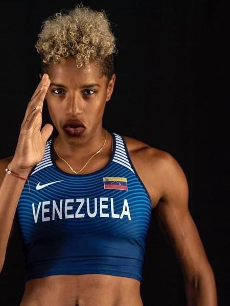 Yulimar Rojas quebrou hoje o recorde no salto triplo feminino - Reprodução / Instagram