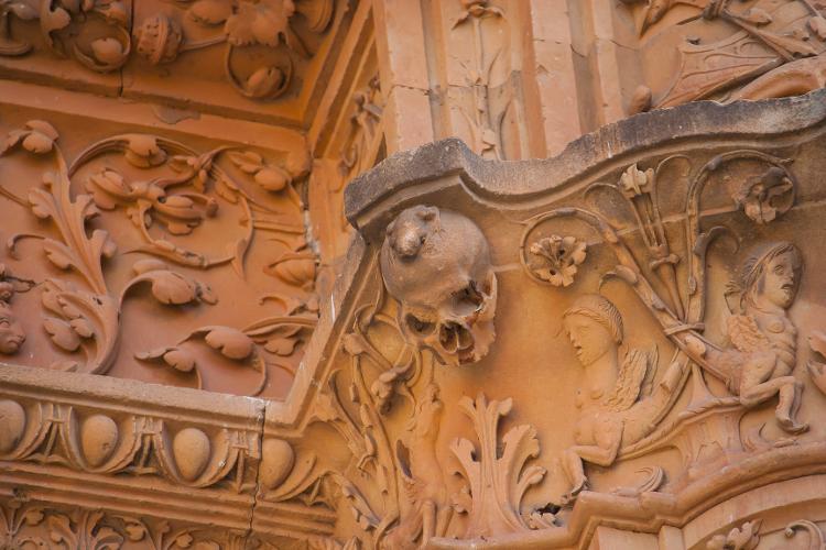 Famosa rana en la Universidad de Salamanca en España - Getty Images / iStockPhoto - Getty Images / iStockPhoto