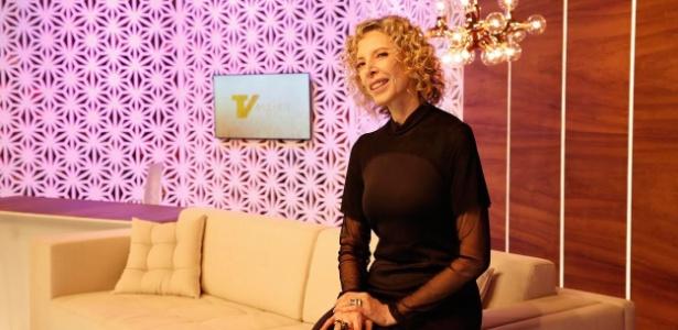 """Marília Gabriela no estúdio do novo """"TV Mulher"""", que volta pelo canal Viva - Divulgação/Viva"""