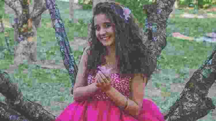 Esther Karina Duran, 15 anos, São Paulo, SP  - Jovens contam como mudaram a rotina por causa da religião - Arquivo Pessoal - Arquivo Pessoal