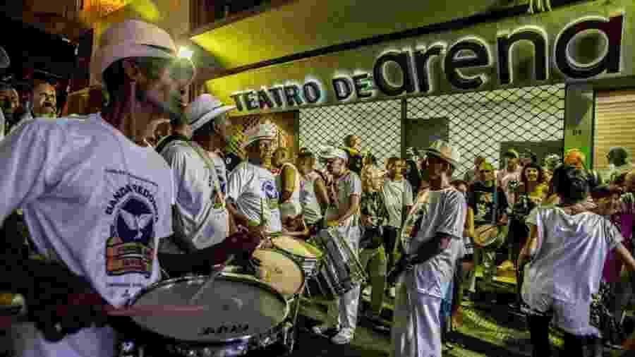 Desfile da Banda Redonda no centro de São Paulo, em 2017 - Reinaldo Canato /UOL