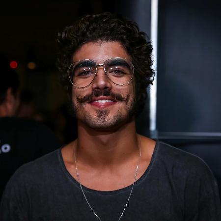 Ator Caio Castro vai à after party do Justin Bieber, organizada por uma marca de roupas, em São Paulo - Raphael Castello/AgNews