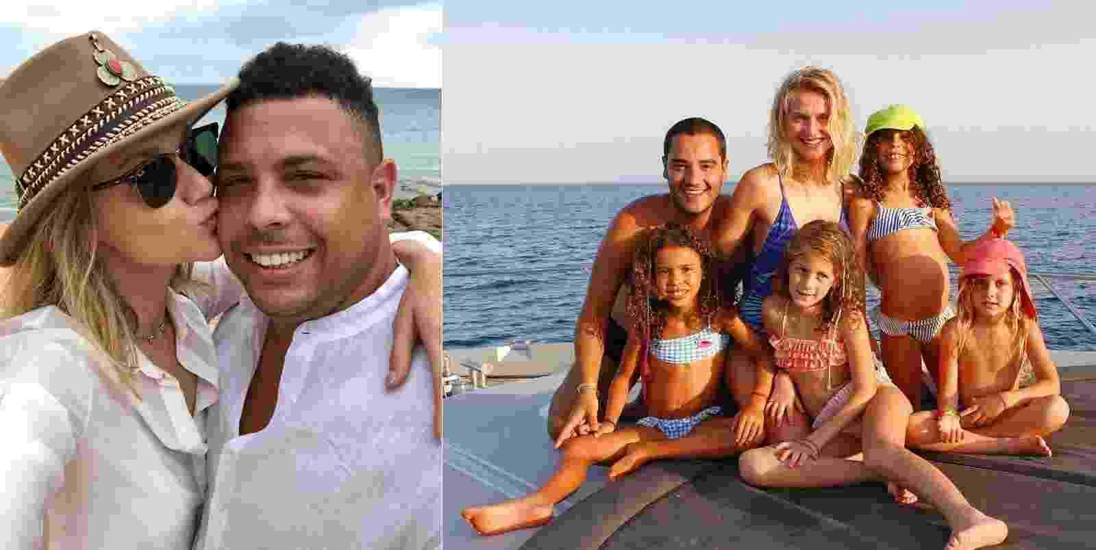 Ronaldo férias com filhos - Reprodução/Instagram