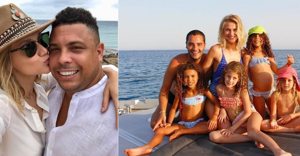 Ronaldo férias com filhos