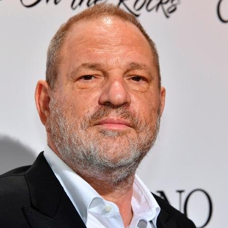 O produtor Harvey Weinstein posa durante o Festival de Cannes - AFP/Getty Images