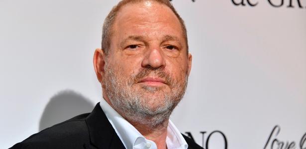 O produtor Harvey Weinstein, acusado de abuso sexual por mais de 60 mulheres - AFP/Getty Images