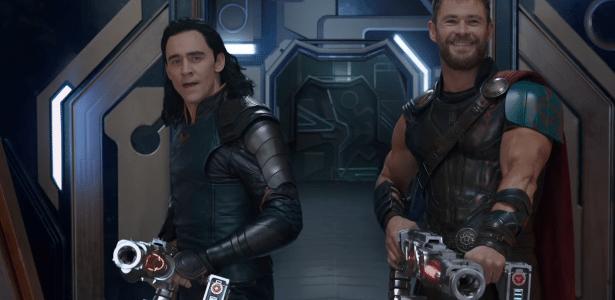 """Cena de """"Thor: Ragnarok"""""""