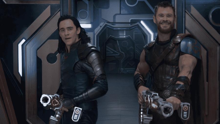 """Cena de """"Thor: Ragnarok"""" - Reprodução"""