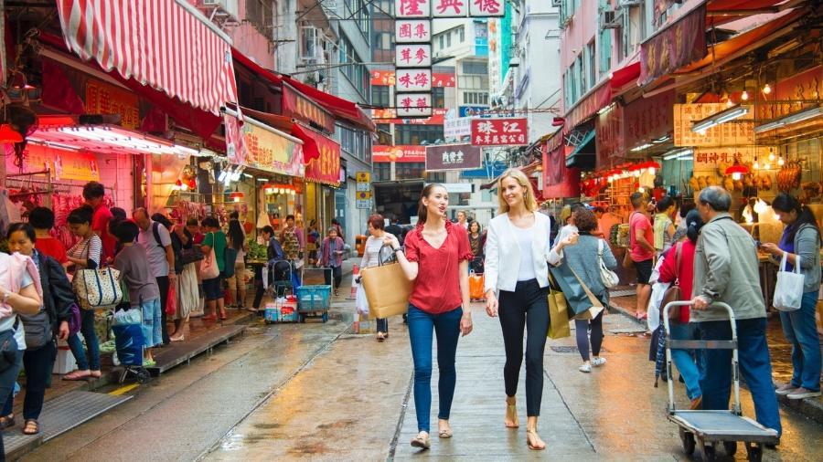 Fazer compras em Hong Kong está mais barato - Getty Images