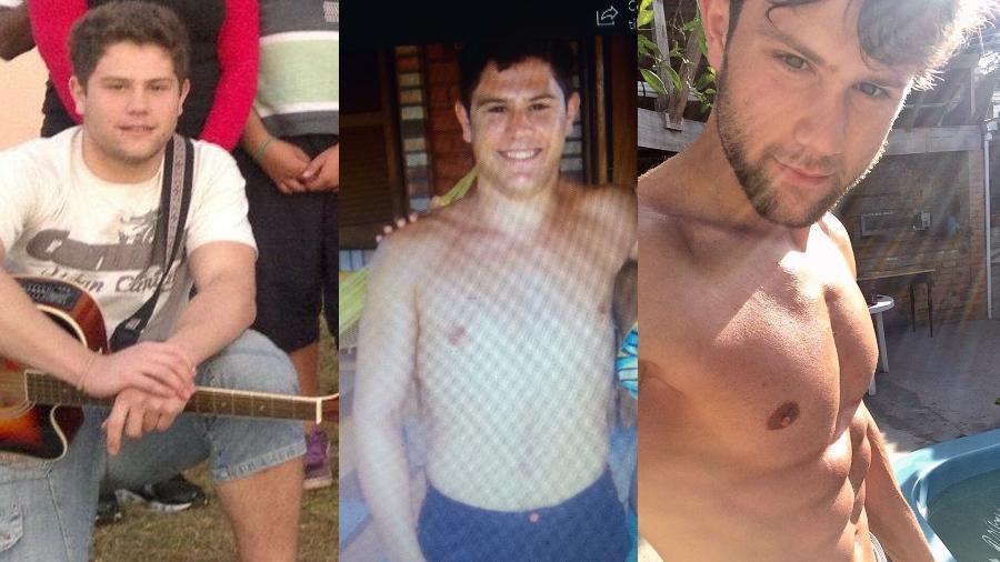 Cristian Fin mostra seu processo de emagrecimento em fotos - Divulgação/LV Assessoria