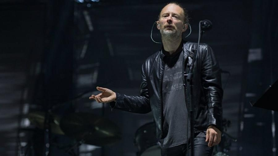 O vocalista Thom Yorke, líder do Radiohead - Getty Images