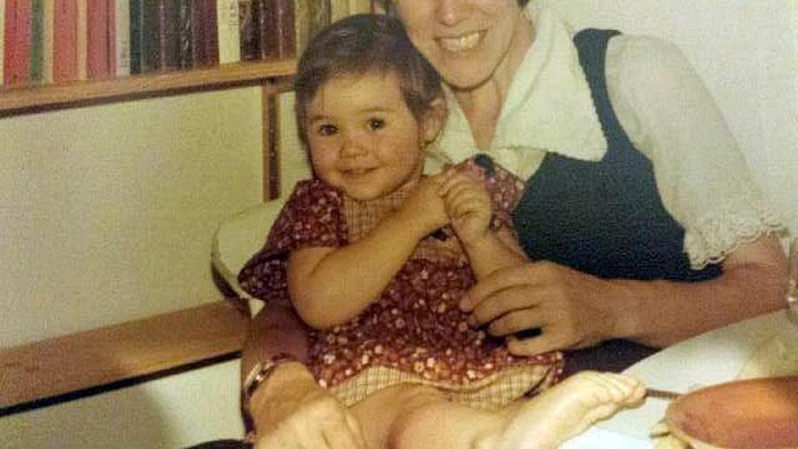 Sarah Thomas com um ano e meio - Arquivo pessoal/Sarah Thomas