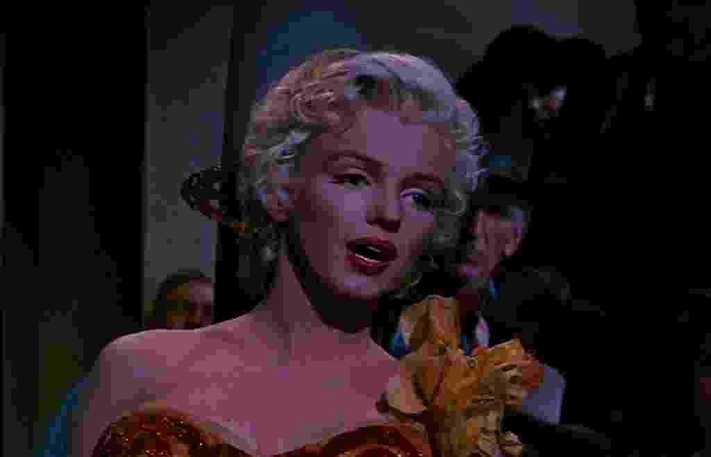 """Marilyn Monroe em cena em """"O Rio das Almas Perdidas"""" (1954) - Divulgação"""