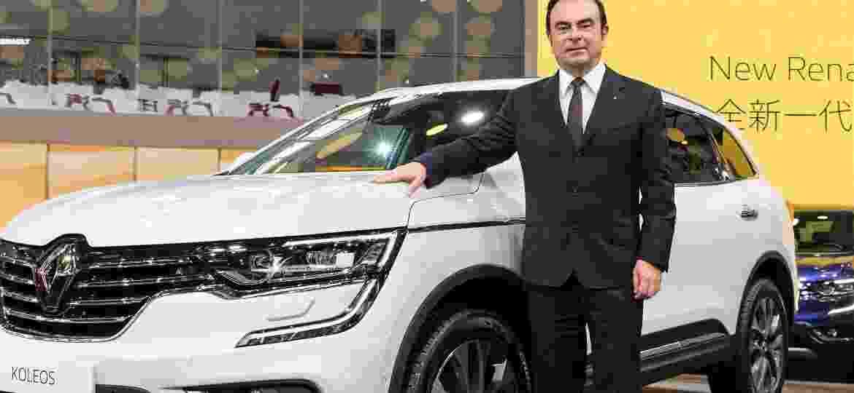 """Carlos Ghosn, o """"cabeça"""" da aliança Nissan-Renault - Divulgação"""