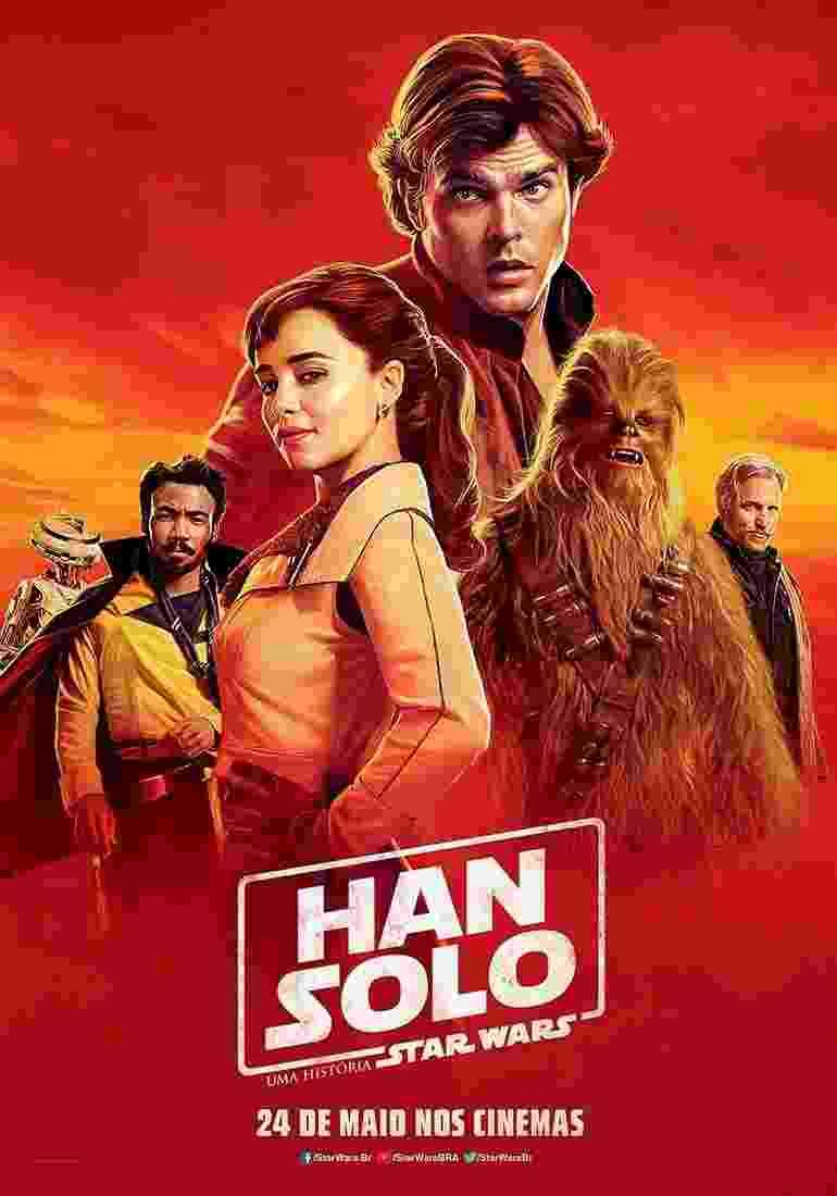 """Pôsteres mostram quem é quem em """"Han Solo - Uma História Star Wars"""" - Divulgação/Warner Bros."""