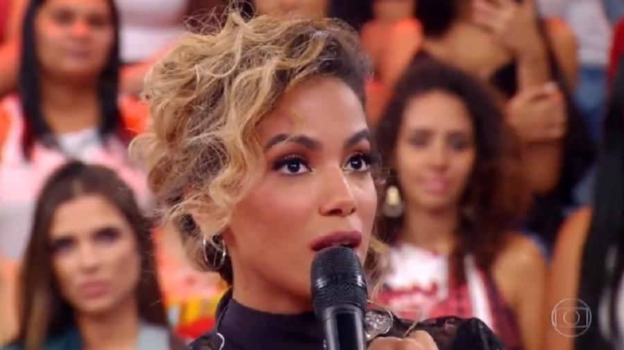 """Anitta se apresentou no """"Caldeirão do Huck"""" - Reprodução/TV Globo"""