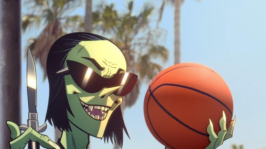 """O personagem """"Ace"""" no novo clipe do Gorillaz - Reprodução"""