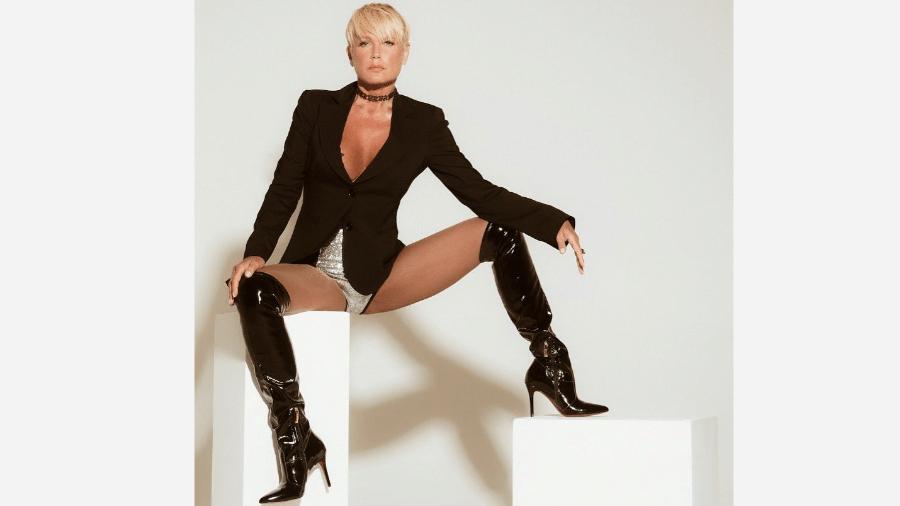 A apresentadora Xuxa - Reprodução/Instagram
