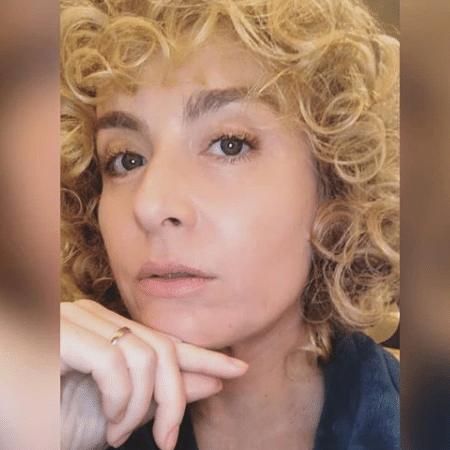 Angélica com os cabelos cacheados - Reprodução/Instagram
