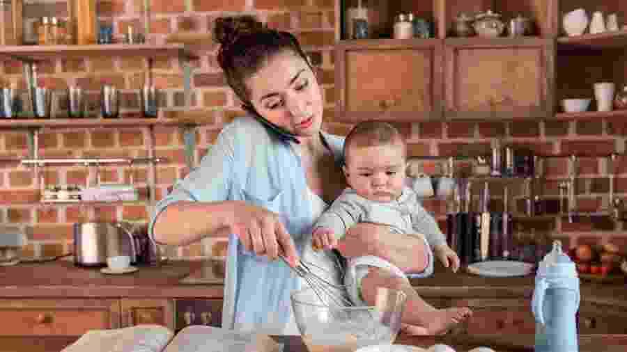 Estudo norte-americano avaliou mais de 2 mil mães - iStock