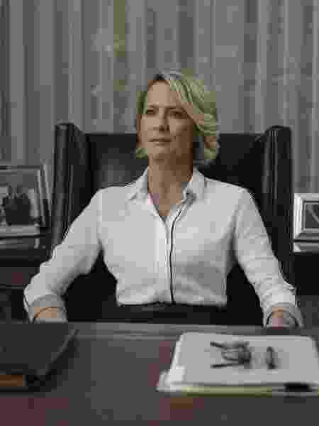 """Robin Wright como a Claire de """"House of Cards"""" - Divulgação/Netflix"""