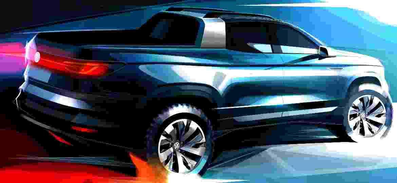Volkswagen Tarok: picape conceitual dará origem a modelo que chega em 2020 para causar dor de cabeça à Fiat Toro - Divulgação