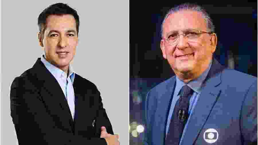 Nivaldo Prieto e Galvão Bueno farão a transmissão do sorteio da Libertadores por FOX Sports e SporTV, respectivamente - Divulgação Montagem/UOL