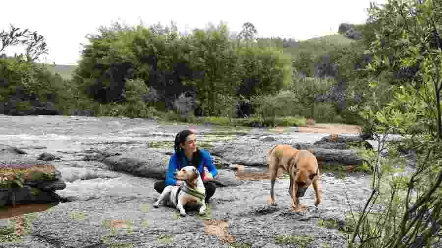 Pode inlcuir seus animais no roteiro de férias: há passeios para todos os gostos - Andrea Miramontes/Arquivo pessoal