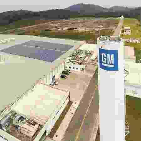 Fábrica da GM - Divulgação