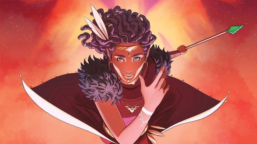 """Capa de """"Niobe: She is Life"""", uma das HQs que formam o universo de """"Asunda"""" - Reprodução"""