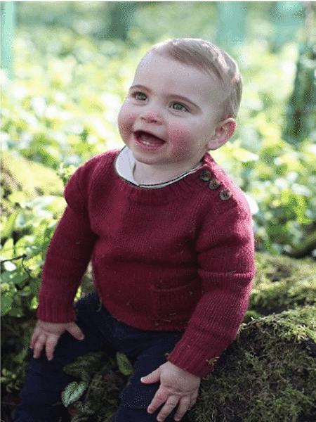 Principe Louis, terceiro filho de William e Kate - Reprodução/Instagram