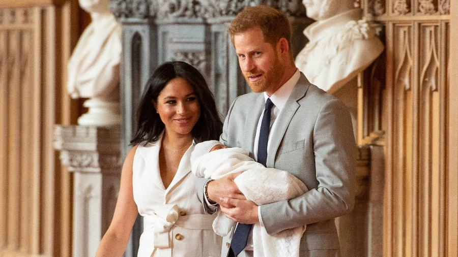 Os duques de Sussex Harry e Meghan  - Dominic Lipinski Pool/REUTERS