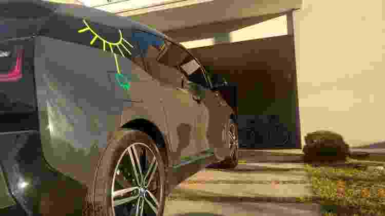 Coelho afirma que, durante os 73 mil km rodados, manutenção principal foi a troca dos pneus e do fluido de freio - Arquivo Pessoal