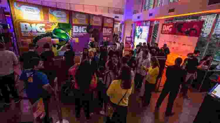 BIG Festival tem exposição de jogos, alguns deles ainda não lançados - André Lucas/UOL