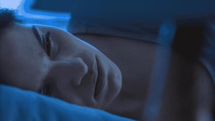 Mães que sofrem de TEPT podem ter pesadelos que fazem com que elas revivam momentos traumáticos de seus partos - GETTY IMAGES
